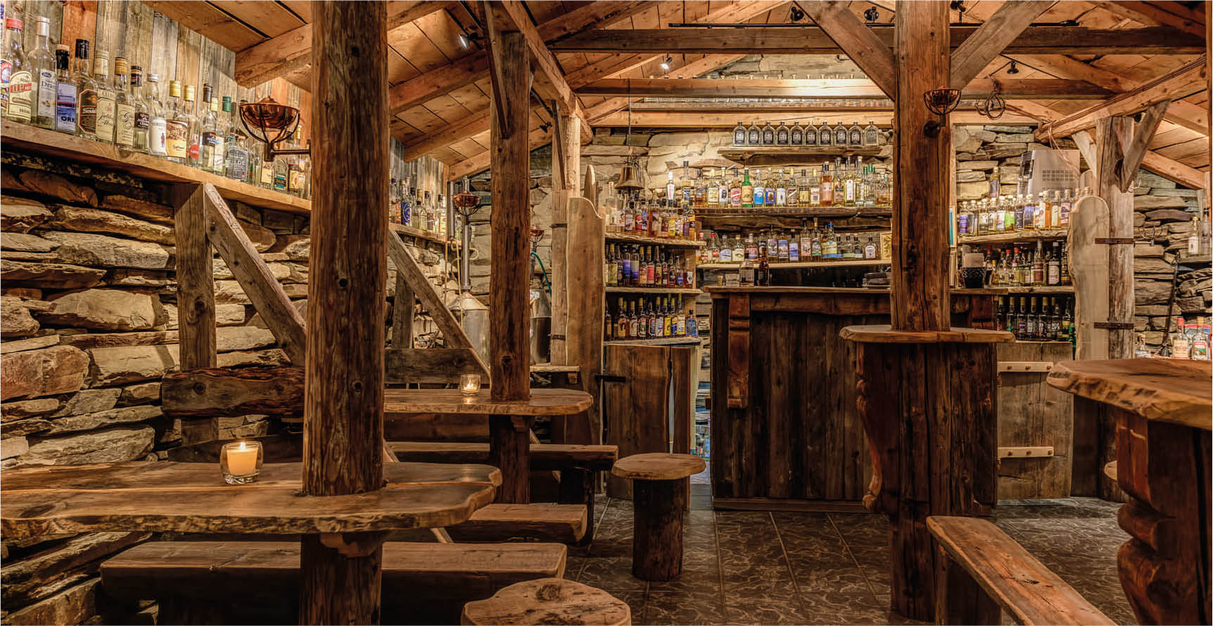 Spidsbergseter Mountain Hotel- Aquavit bar