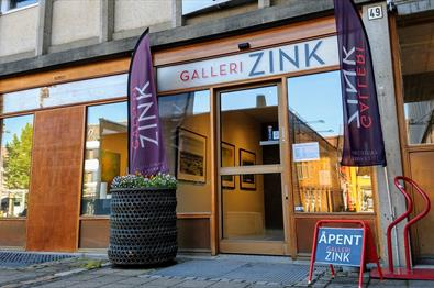 The entrance - Galleri Zink