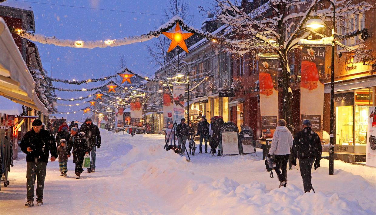 Christmas lights switch-on in Lillehammer - Christmas events in ...