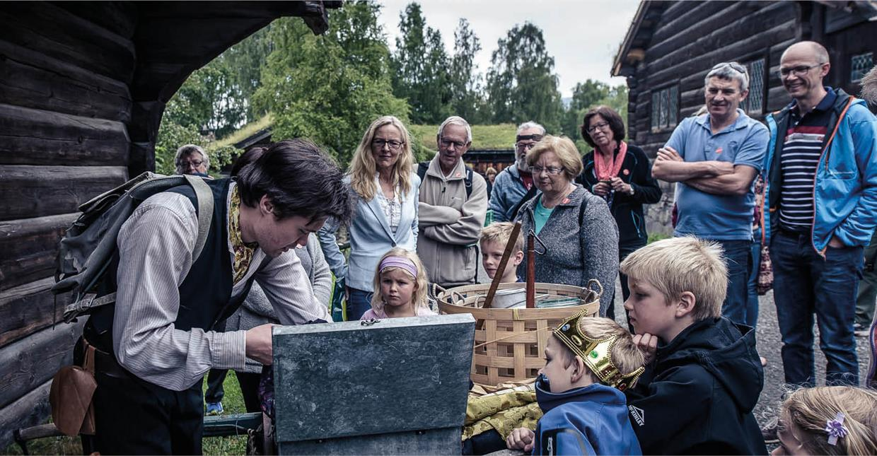 Maihaugen outdoor museum-guided tour