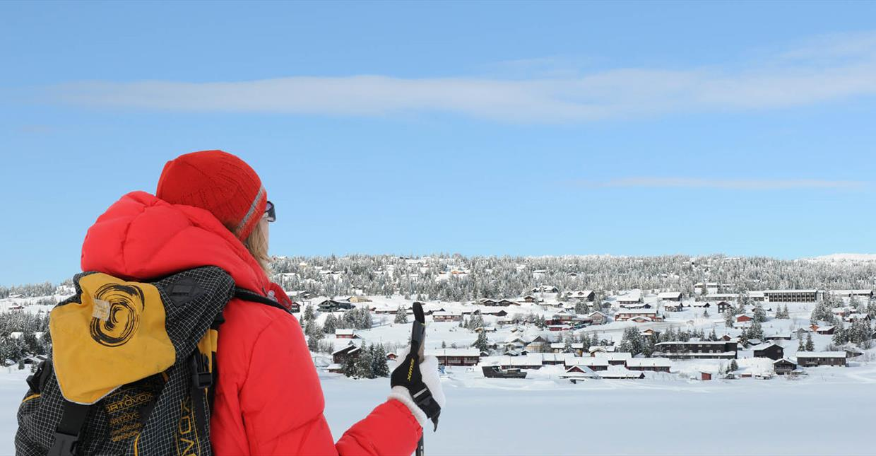 Cross-country Skiing at Sjusjøen