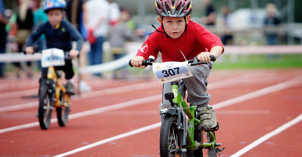 Birkenbeiner Cycle race for children