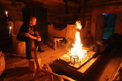 Cosy fire, authentic accommodation