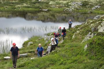 Hinking in the Rondane National Park