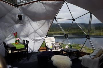 Luxury glamping in wonderful Åstdalen