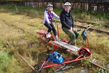 Rail Tricycle Rides - AS Valdresbanen